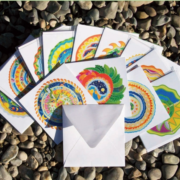 SINGLE GREETING CARDS –  FOLDED CARD WITH ENVELOPE